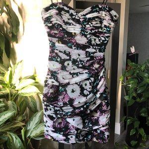 BCBG Floral Party Tube Dress